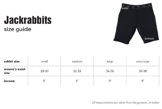 Men's rabbit Jackrabbits Short