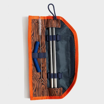 United By Blue Printed Straw Kit