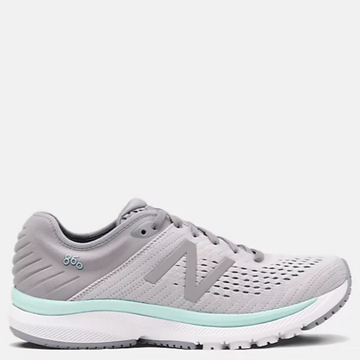 Women's New Balance 860 v10 Running Shoe, Light Grey, Side View