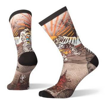 Men's Smartwool Curated Monkey Lounge Crew Sock