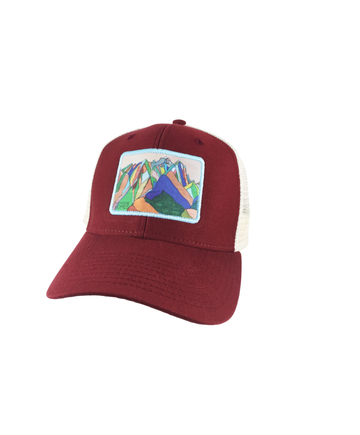 Katherine Homes Grand Teton National Park Baseball Hat