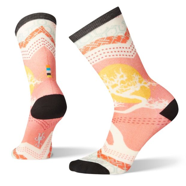 Women's Smartwool Curated Bonsai Graphic Crew Sock