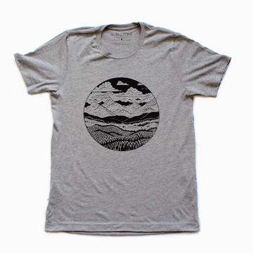 Moore Collection Mountain Range Tee