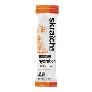 Skratch Labs Orange Sport Hydration Drink Mix Packet