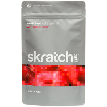 Skratch Labs Raspberries Sport Hydration Drink Mix Bag