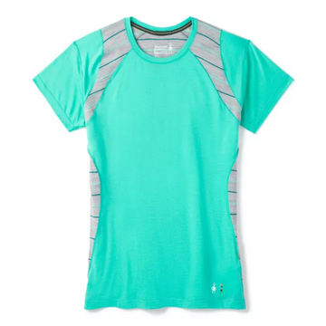 Women's Smartwool Merino 150 Base Layer Colorblock Short Sleeve