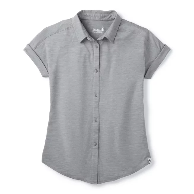 Women's Smartwool Everyday Travel Button Down Top