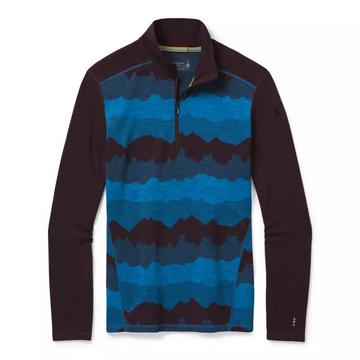 Men's Smartwool Merino 250 Base Layer Pattern 1/4 Zip