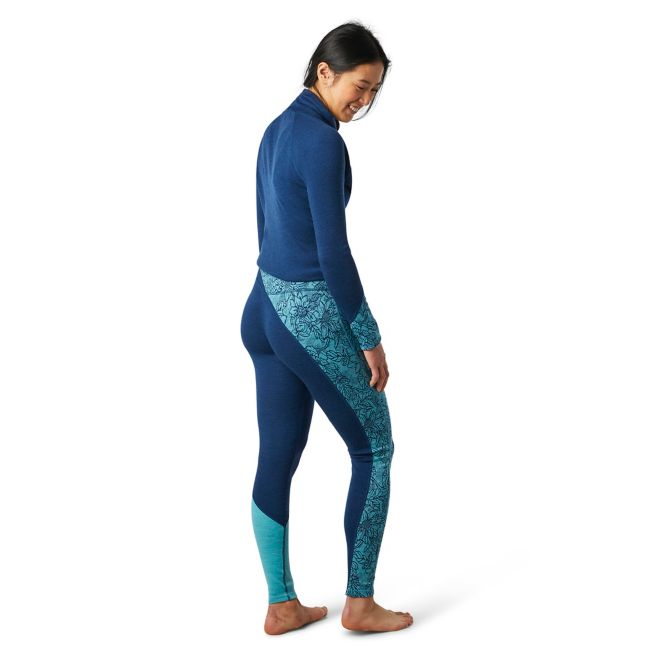 Women's Smartwool Merino 250 Base Layer Colorblock Bottom