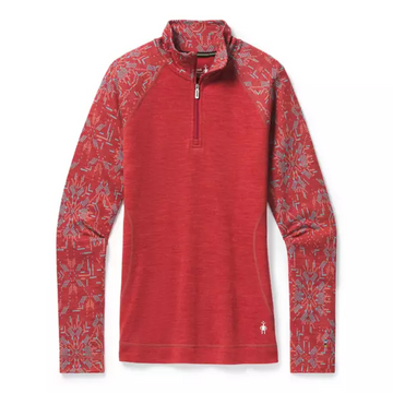 Women's Smartwool Merino 250 Base Layer Pattern 1/4 Zip