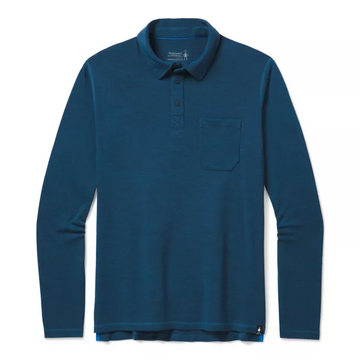 Men's Smartwool Merino Sport 250 Long Sleeve Polo
