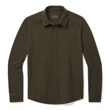Men's Smartwool Merino Sport 250 Long Sleeve Button Up