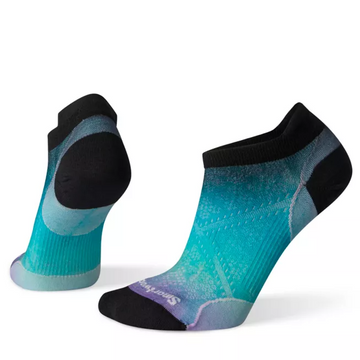 Women's Smartwool PhD® Run Ultra Light Ombre Print Micro Sock