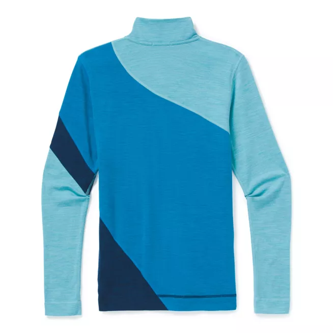 Women's Smartwool Merino 250 Base Layer Colorblock 1/4 Zip