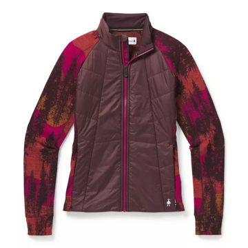 Women's Smartwool Smartloft 60 Jacket in Burgundy