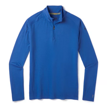 Men's Smartwool Merino 150 Base Layer 1/4 Zip in Blue