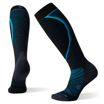 Women's Smartwool PhD® Ski Light Elite Sock in Charcoal