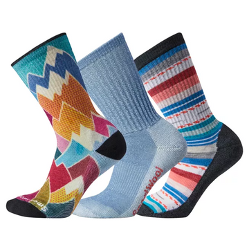 Women's Smartwool Hike Light Cushioned Sock Trio Gift Box