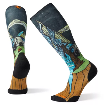 Smartwool PhD® Ski Light Elite Benchetler Print Sock