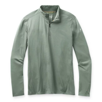 Men's Smartwool Merino 150 Baselayer 1/4 Zip in Sage