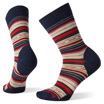 Women's Smartwool Margarita Sock in Deep Navy