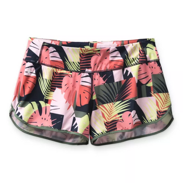 Women's Smartwool Merino Sport Lined Short in Sunset Palm Print