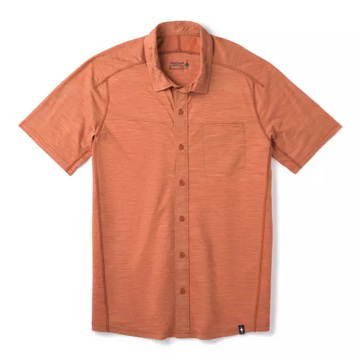 Men's Smartwool Merino Sport 150 Short Sleeve Button Down