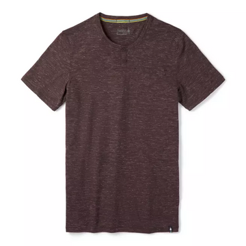 Men's Smartwool Everyday Travel Short Sleeve Henley Shirt