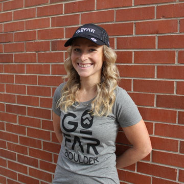 Women's Go Far Short Sleeve Tee - Grey