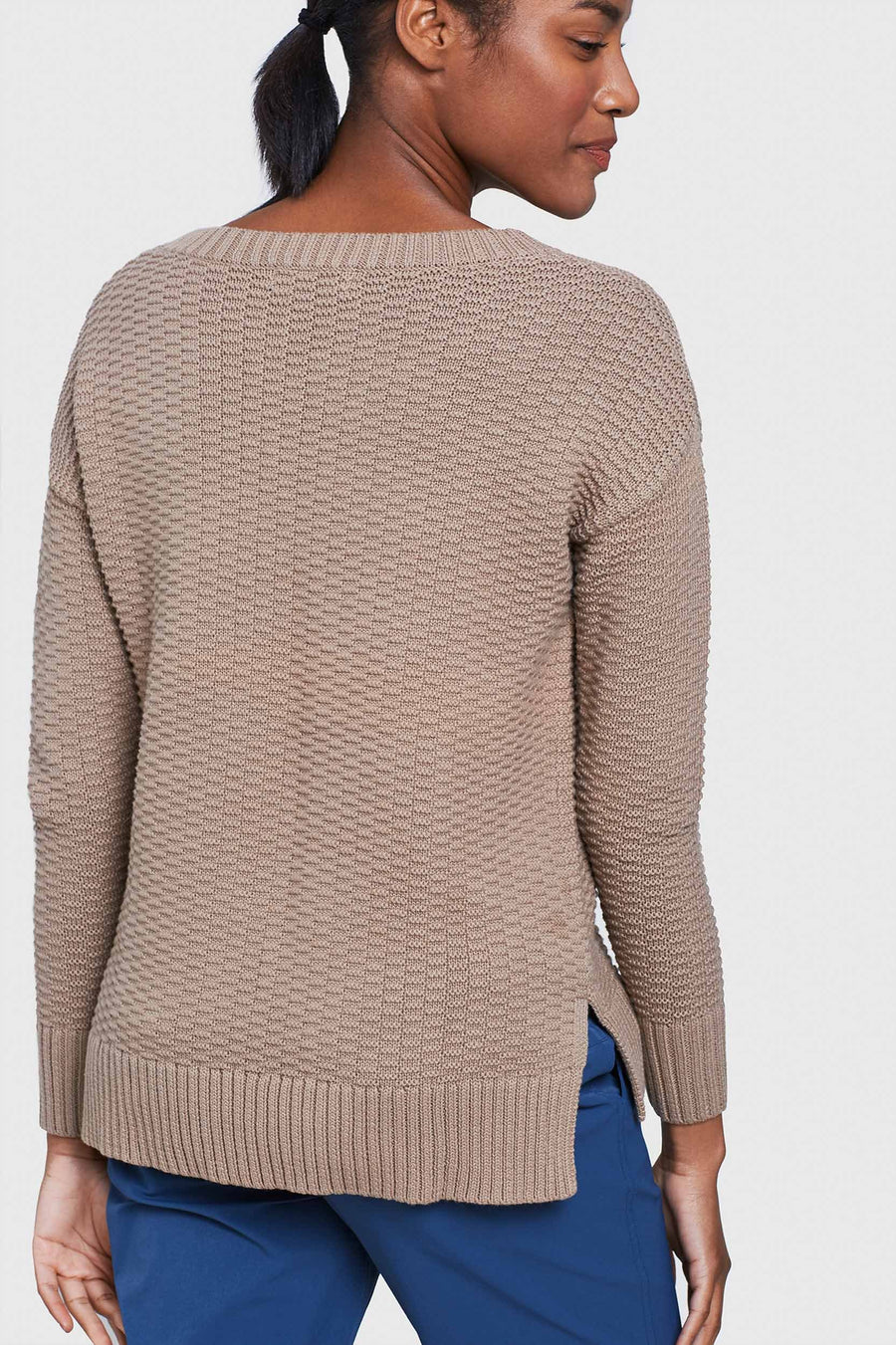 Women's United by Blue Himley Waffle Sweater – Go Far Shop