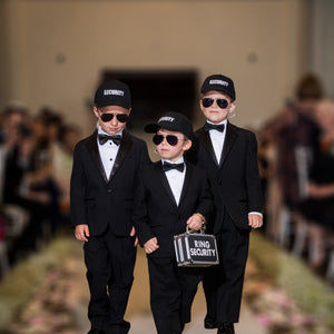 Ring Bearer Security Box Package