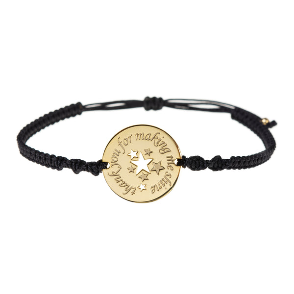 'Thank you for making me shine' <br> Teacher Bracelet