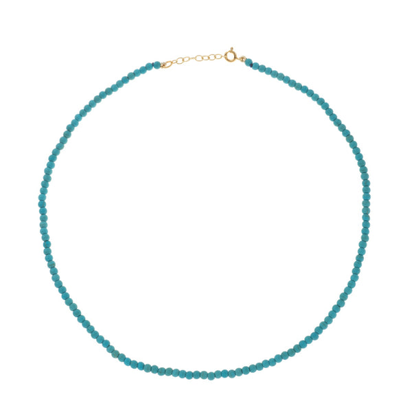 Cyclades Turquoise Necklace<br>Τυρκουάζ κολιέ