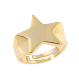 Love Stars Ring <br> Gold Plated