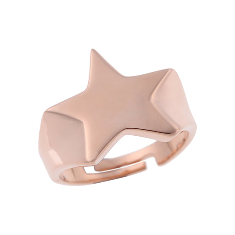 Love Stars Ring <br> Pink Gold Plated