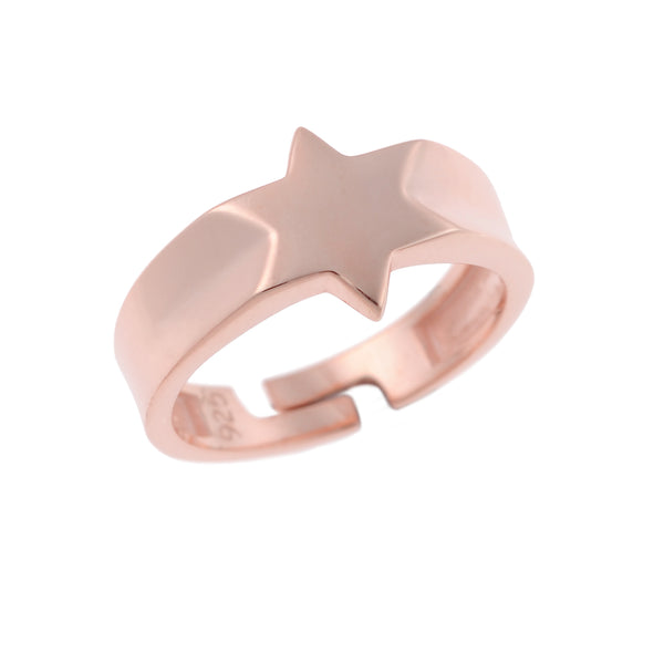 Little Star Ring <br> Pink Gold Plated