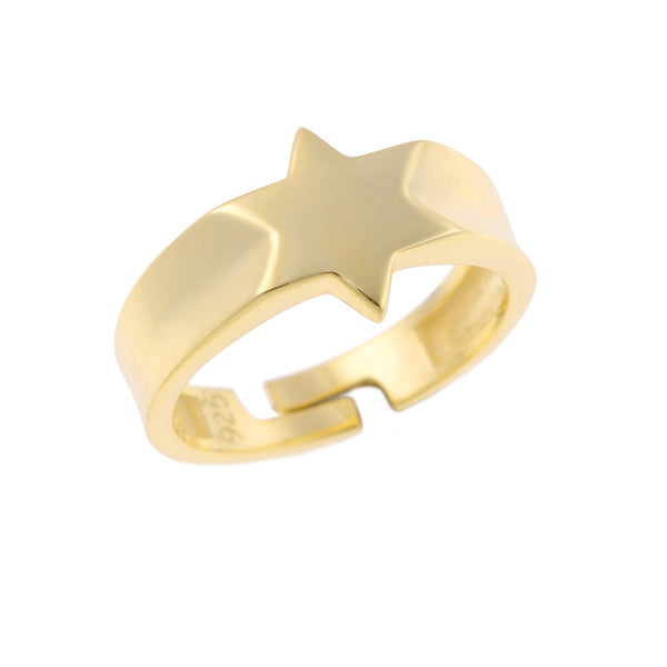 Little Star Ring <br> Gold Plated