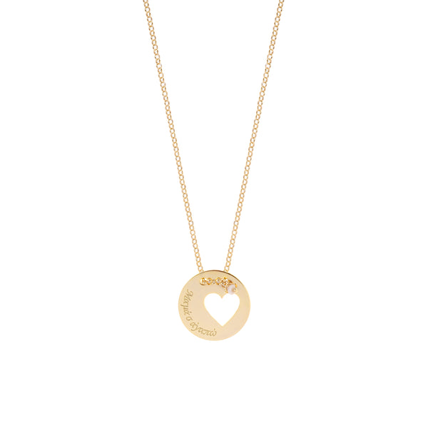 She Holds her Mother's Heart <br> Necklaces