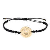 Teacher Wings Bracelet <br>Gold Plated
