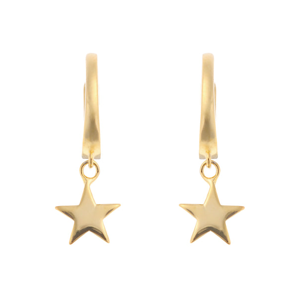 Little Star Huggies <br> Gold Plated