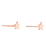 Little Star Earrings<br>Pink Gold Plated