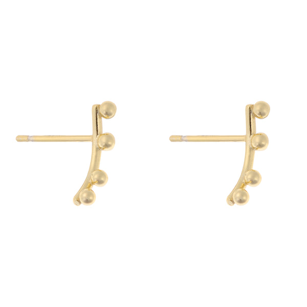 Element Earrings<br>Gold Plated