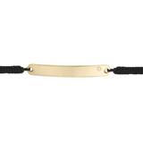 ID Bracelet 14K Gold with Diamond