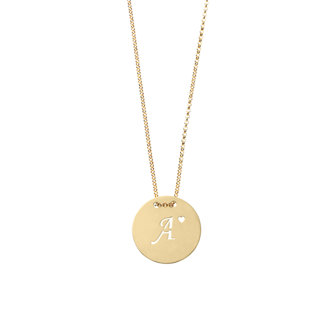 Monogram Long Necklace