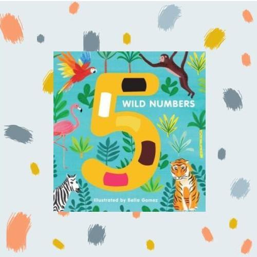 5 Wild Numbers Board Book