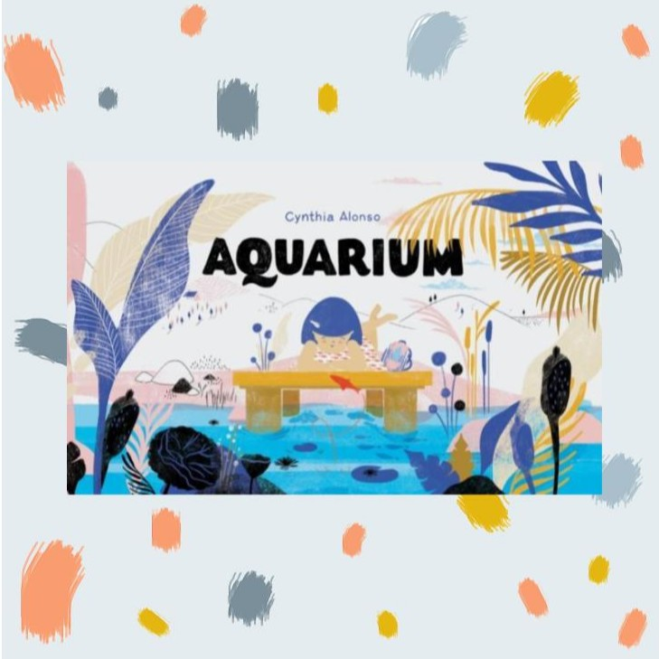 Aquarium Wordless Storybook