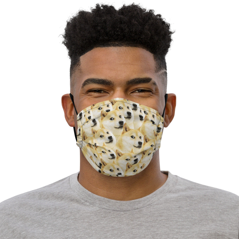 Dogecoin Limited Edition Face Mask