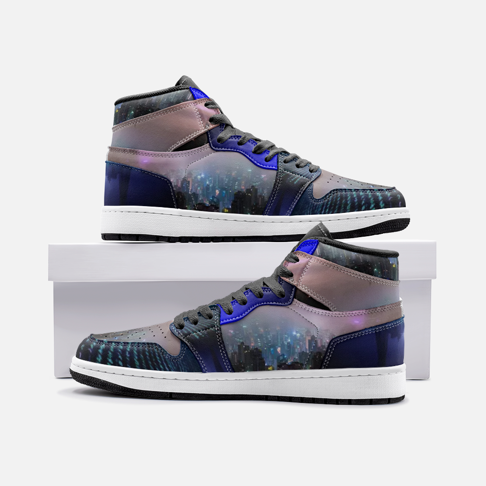 Matrix City Skyline Unisex Sneaker