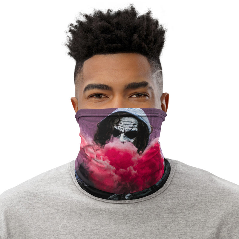 Graffiti Smoke Bomb Neck Gaiter Face Mask