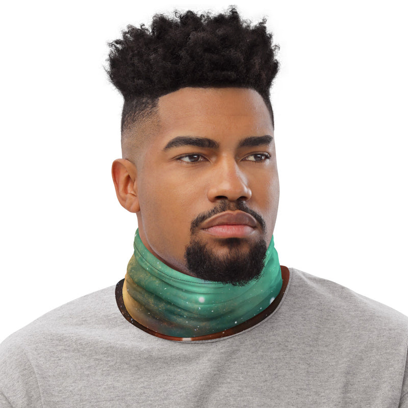Colorful Universe Neck Gaiter Face Mask